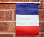 FRANCE - HAND WAVING FLAG (MEDIUM)